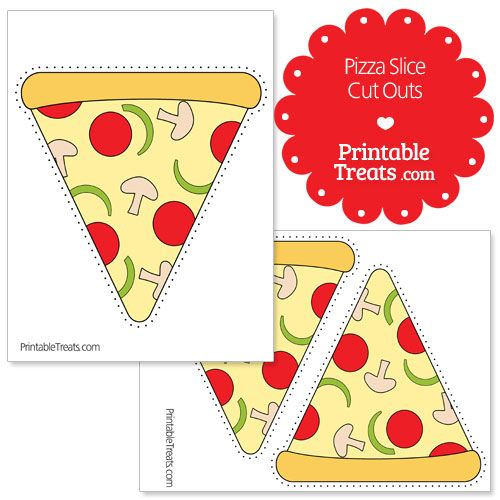 picture about Printable Cut Outs called Printable Pizza Lower Minimize Outs pizza quilt within 2019 Pizza
