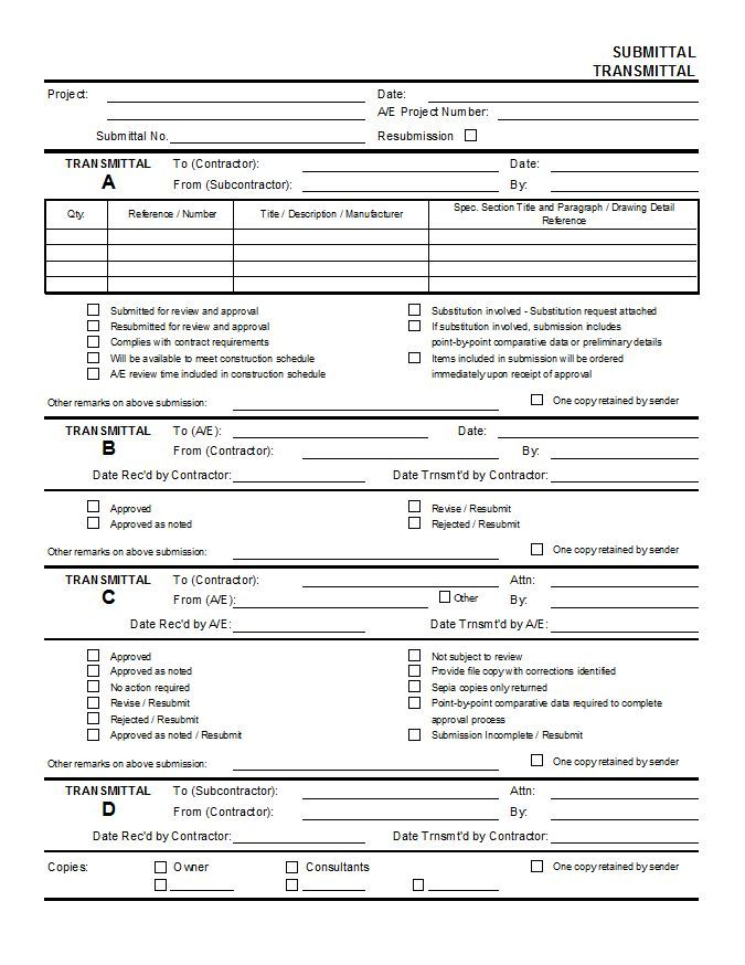 Submittal Transmittal Form | Polygamy | Pinterest | Microsoft