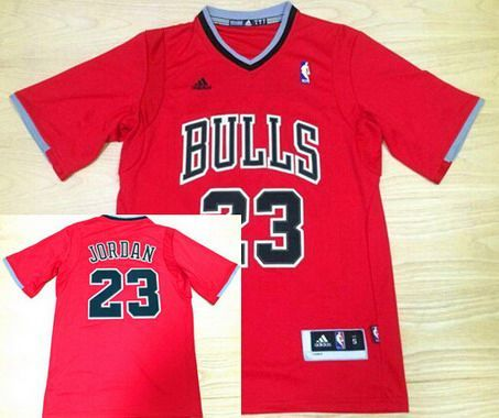 Chicago Bulls #23 Michael Jordan Revolution 30 Swingman 2014 New Red Jersey