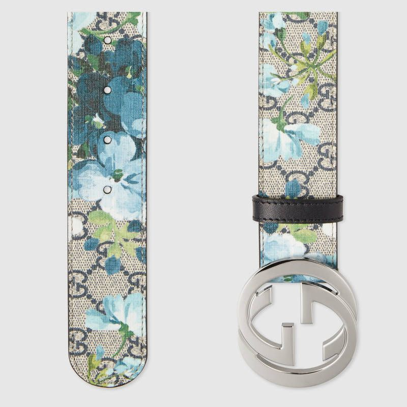 a5bf41230 Gucci GG Blooms belt with G buckle | My Style | Gucci, Fashion ...