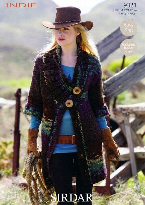 Sirdar--Jacket  I want to make this for myself.