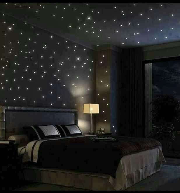 Bedroom starry