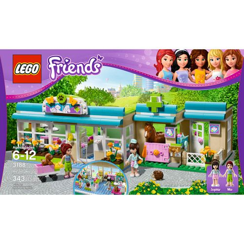 Lego Friends Heartlake Vet Lego Lego Friends Lego Friends Sets