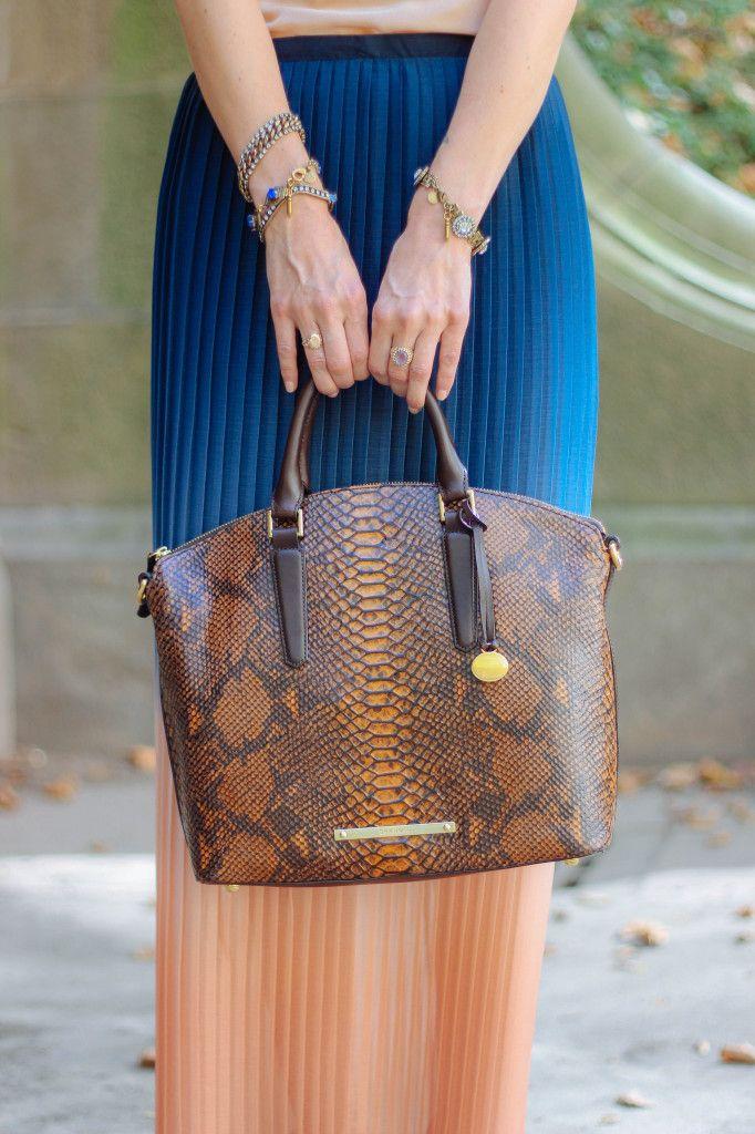 jessannkirby wearing the @brahmin duxbury satchel in Tortoise ...