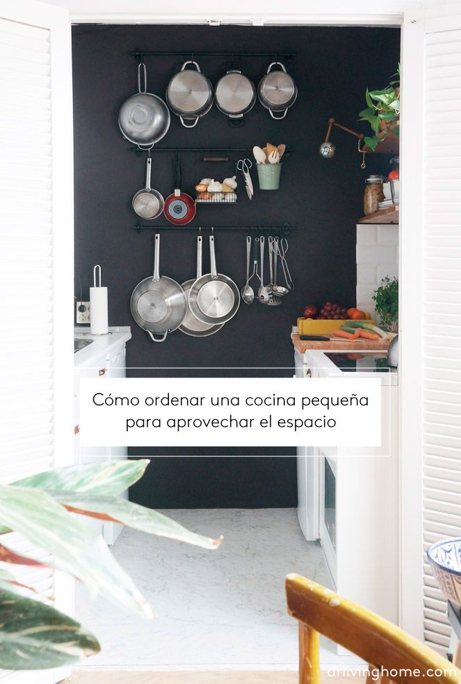 Cómo ordenar una cocina pequeña para aprovechar el espacio | Deco ...