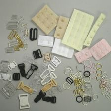 Bra making supplies: Connectors and Fasteners