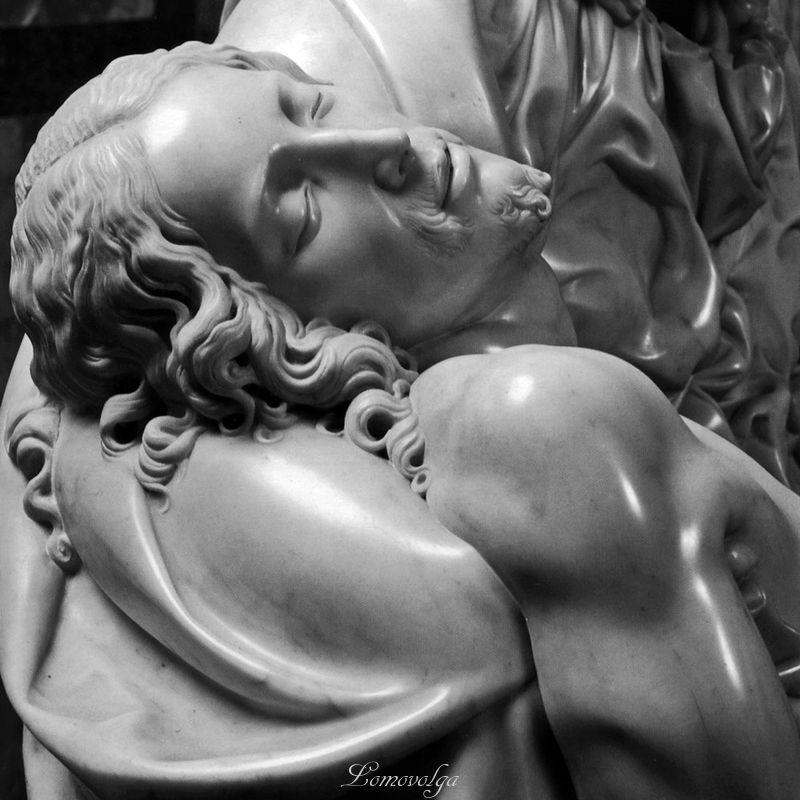 скульптура пьета оплакивание христа