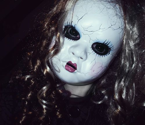 a collection of 33 terrifying halloween masks - Halloween Is Scary