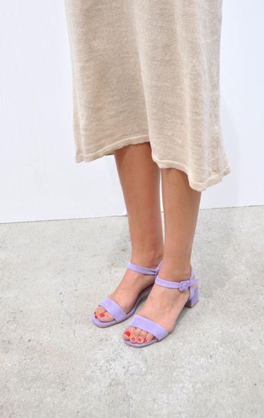 MARYAM NASSIR ZADEH Sophie suede sandals