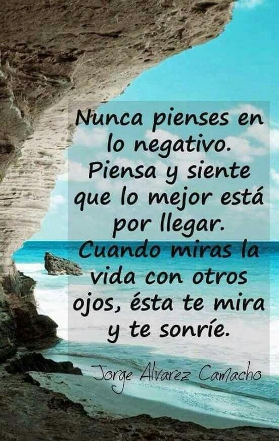 Siempre positiva/o !!!! ➕