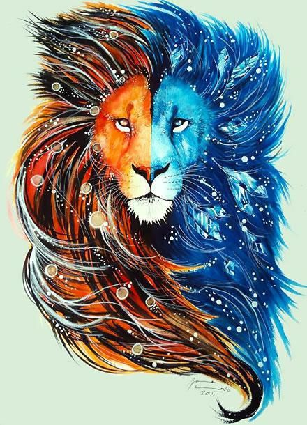 Best Lion Tattoo Design Projects To Try Lion Art Painting Et Art