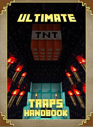 #book  Ultimate Traps Handbook The Unofficial Minecraft Tricks Guide for Minecrafters Mobs Handbook  #books