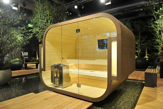 Outdoor Sauna By Kung Saunas