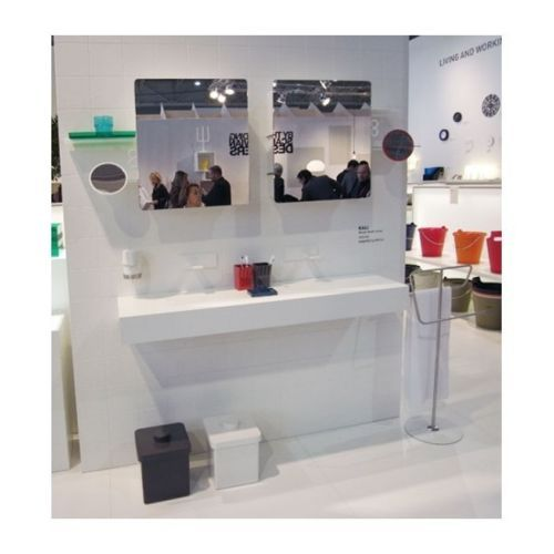 Authentics Corbeille Salle De Bains Grise Design Kali 1313212