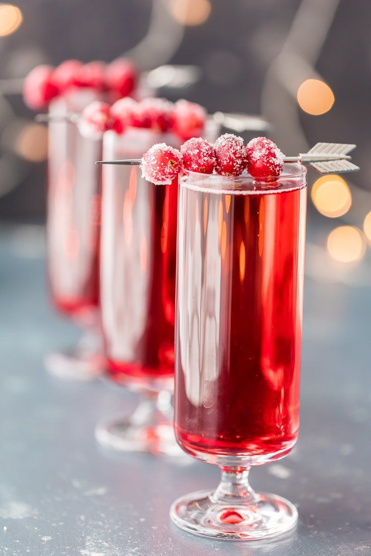 10 Holiday Cocktails That Are Almost Too Pretty To Drink