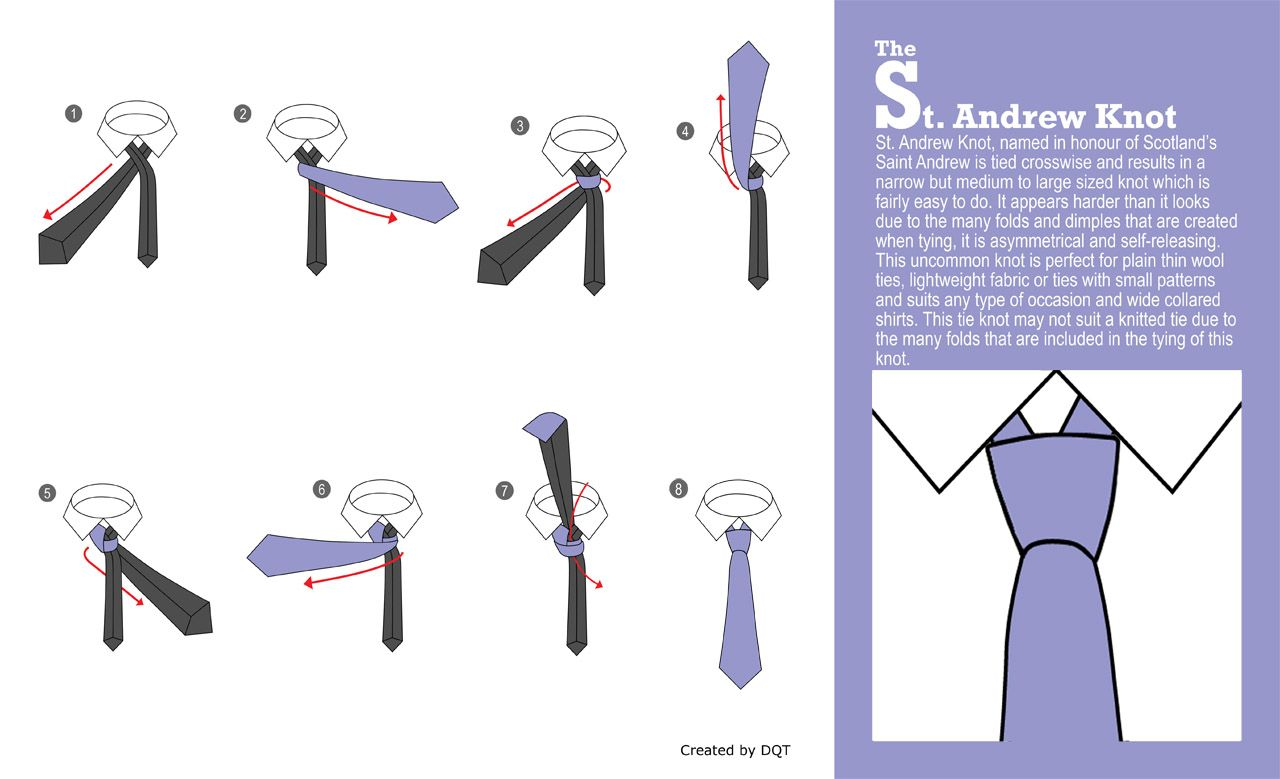 How To Tie A St Andrew Knot 17 Of 21 By Dqt Trinity Diagram