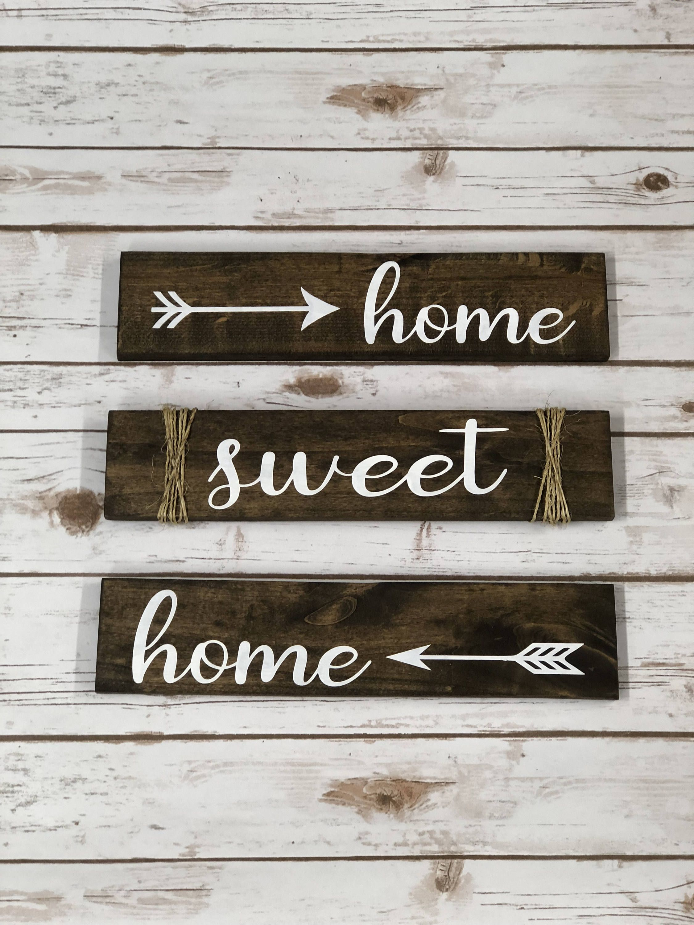 Home Sweet Home Home Decor Wood Signs Etsy Home Wooden Signs Diy Wood Projects Barn Wood Signs