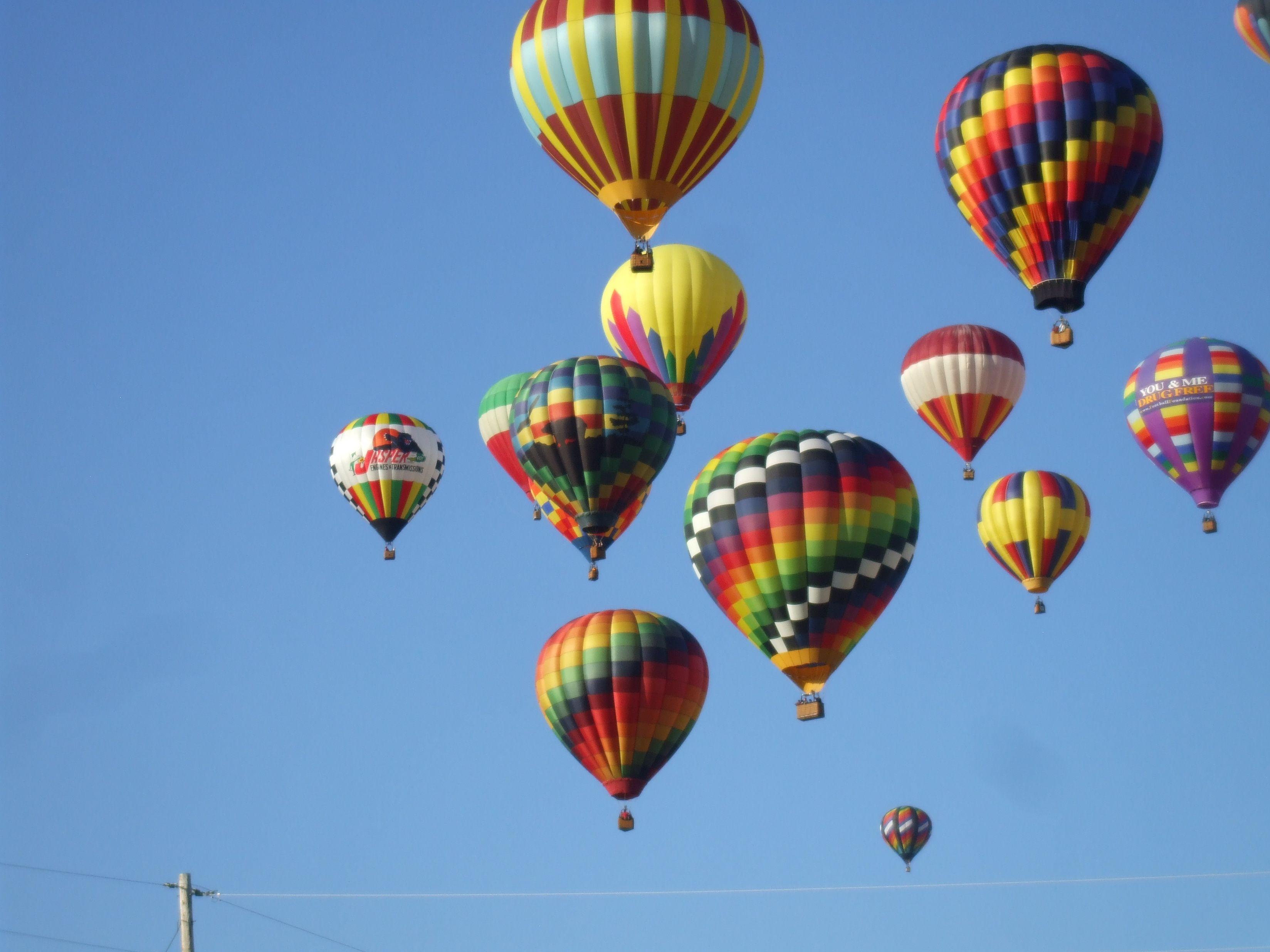 Beautiful Hot Air Balloon Festival, Statesville, NC This