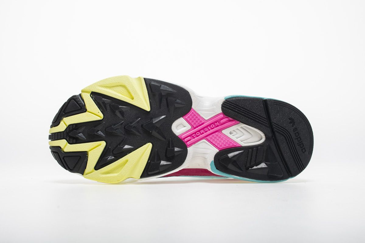 Adidas Falcon W YUNG-2 Red Blue Yellow Sneaker BB9180 7  bfab83b7f
