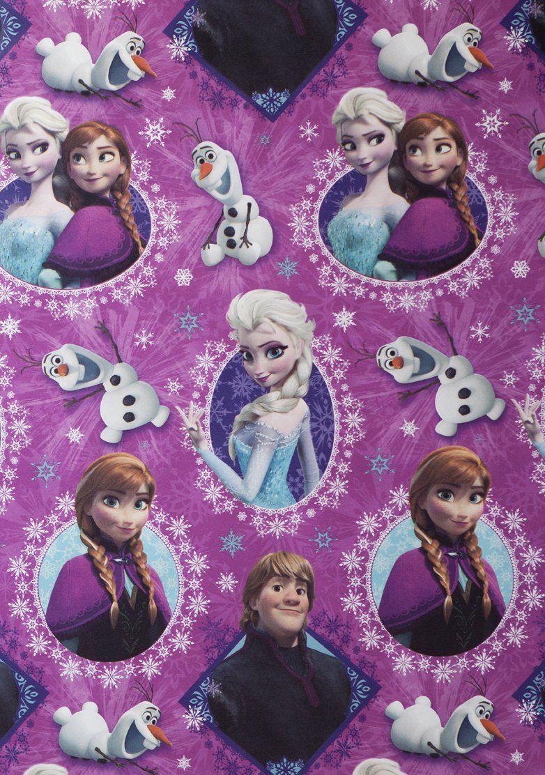 Disney Frozen Christmas Gift Wrap Wrapping Paper (1 Roll, 70 Sq. Ft ...