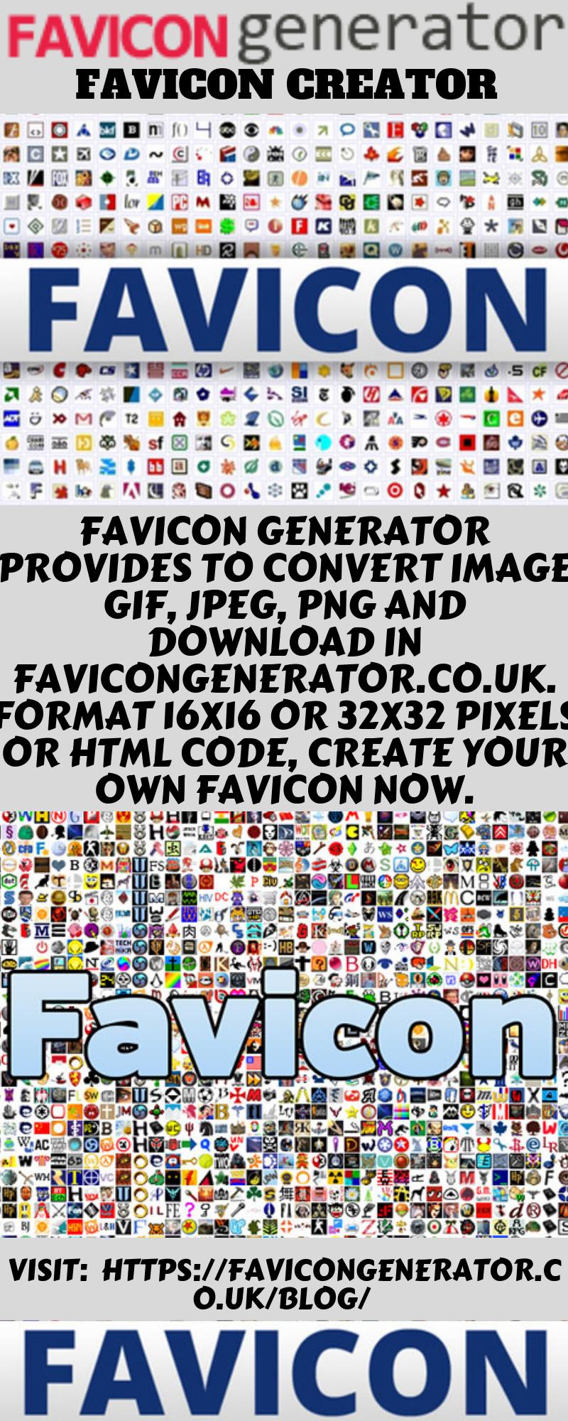 Favicon creator Favicon generator provides to convert