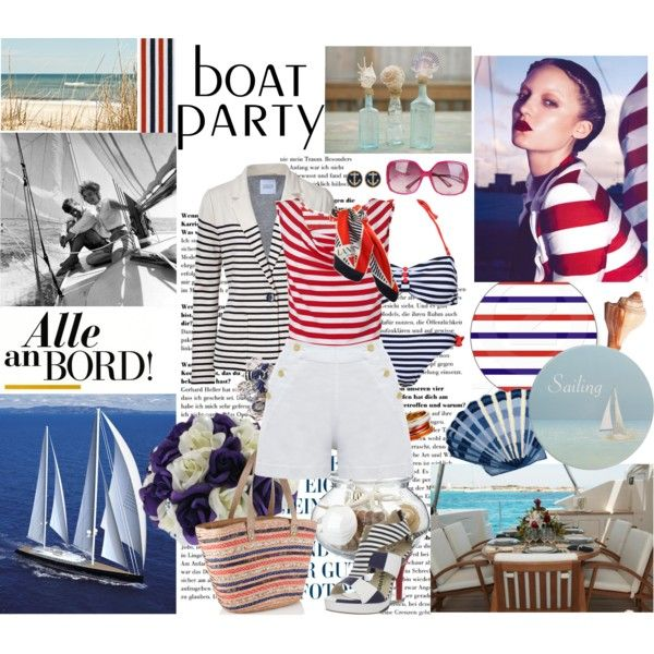 """Boat party"" by taggica on Polyvore"