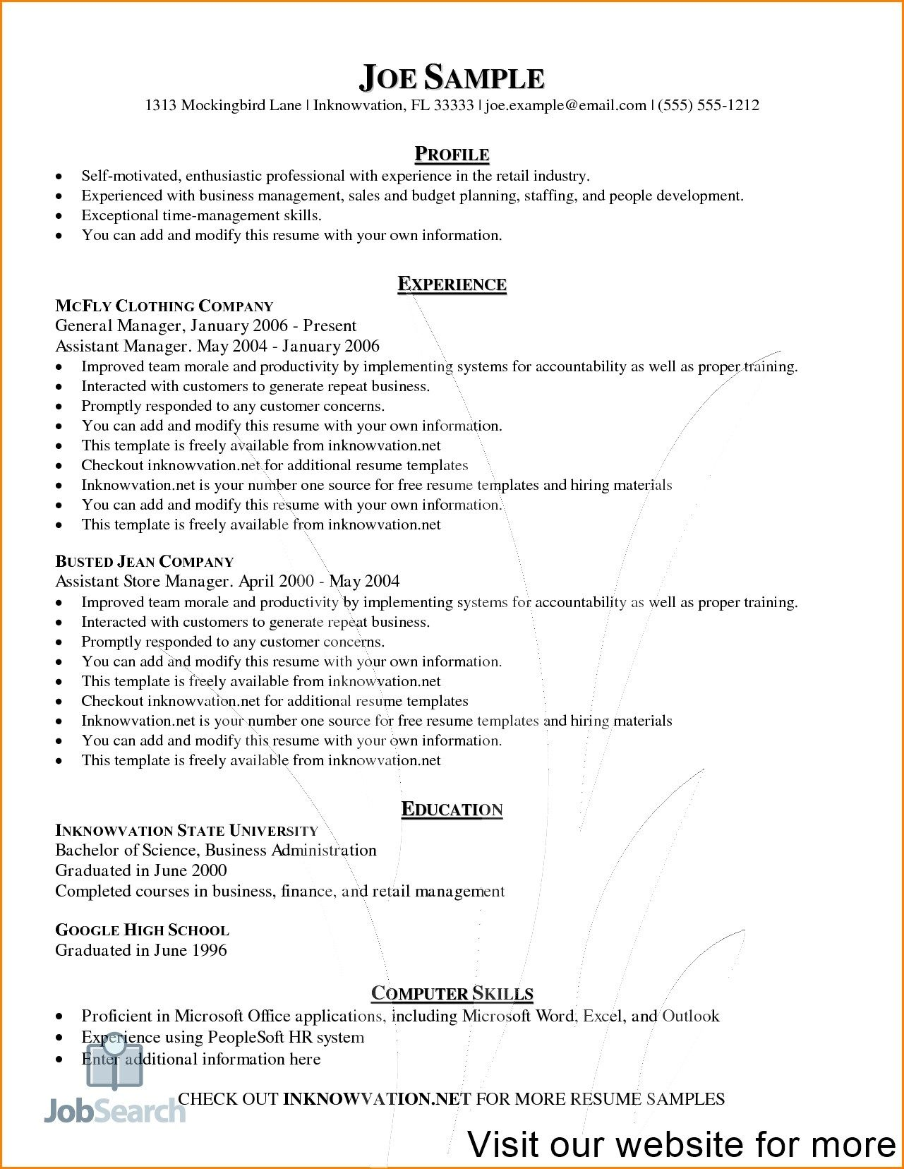 resume template download free in 2020 Downloadable