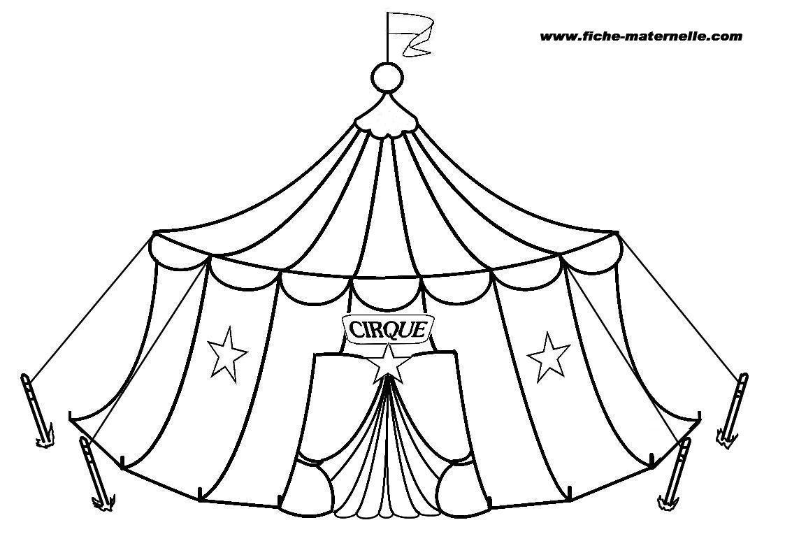 Coloriage Cirque 1 Jpg Dans Coloring Circus Free Coloring Pages Coloring Pages For Kids Free Coloring Pages Coloring Pages