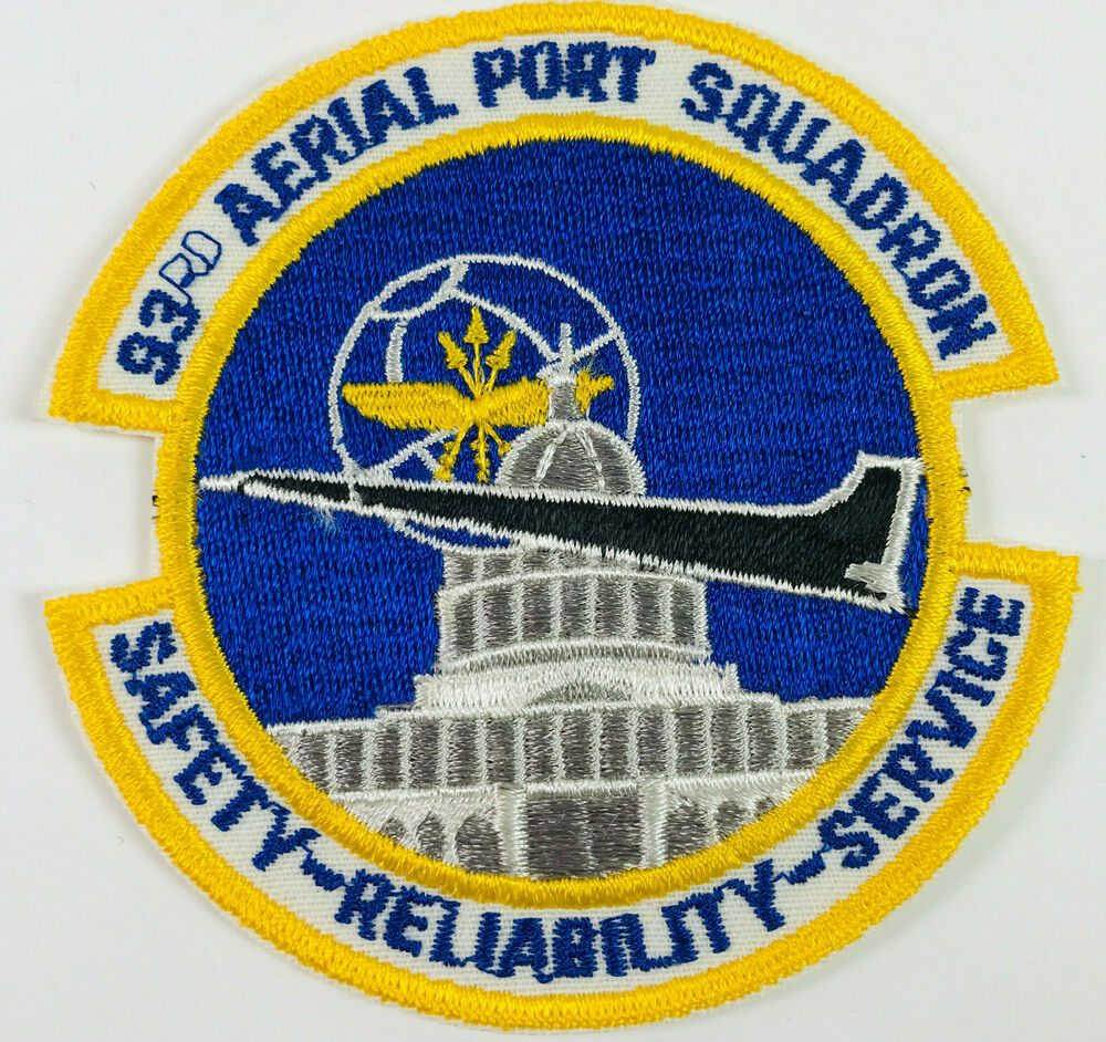 93rd Aerial Port Squadron Andrews AFB Maryland US Air