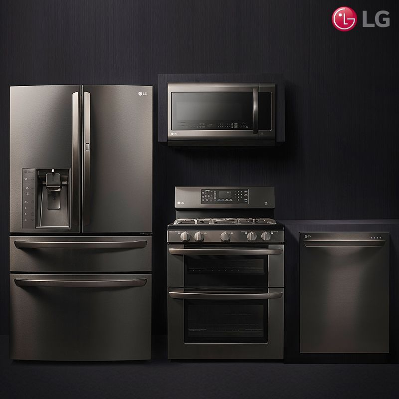 Kitchen Remodel Black Appliances: Don't Be Afraid Of The Dark. Bring A Modern Touch To Your