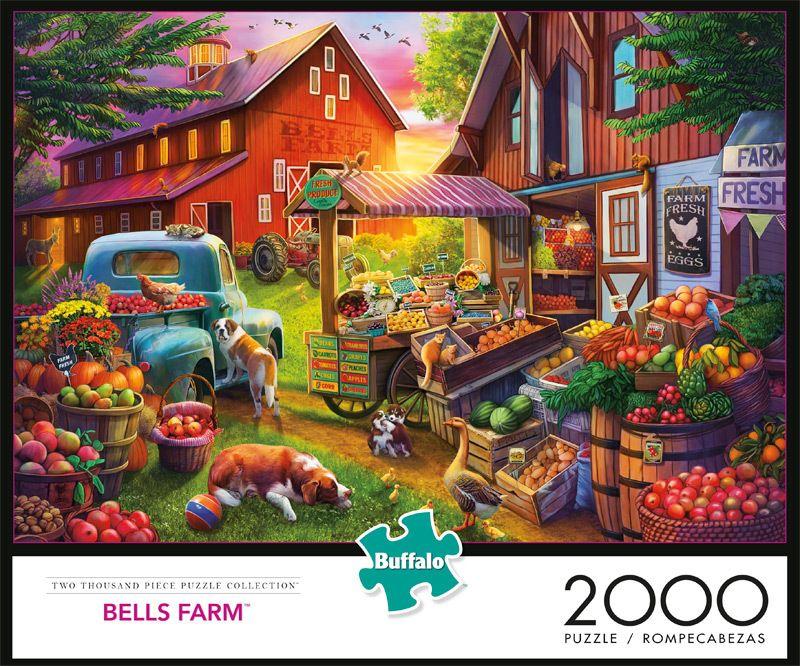 Bells Farm 2000 Piece Jigsaw Puzzle in 2020 Jigsaw