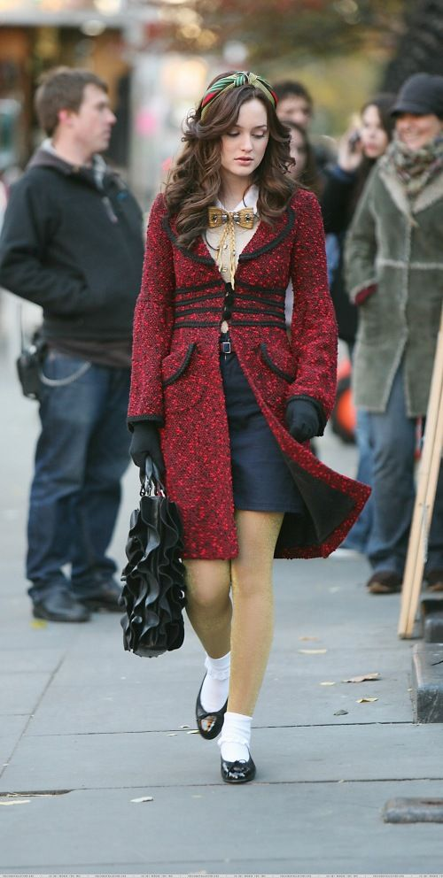 Gossip Girl Winter Outfits