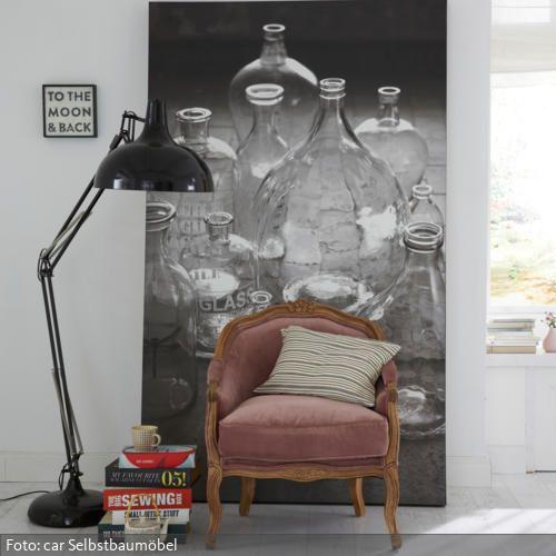 Modern kombinierter Samtsessel | Fotoleinwand, Wohnideen wohnzimmer ...