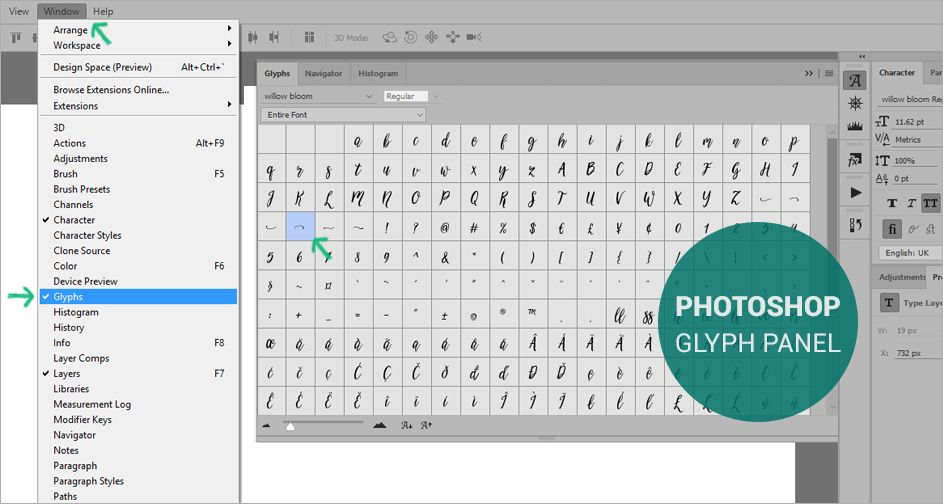 How to add font to photoshop mac