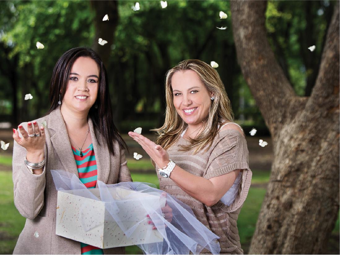 Con la franquicia Imago, especializada en la liberación de mariposas en eventos, esta emprendedora encontró la oportunidad perfecta para independizarse y trabajar desde casa.
