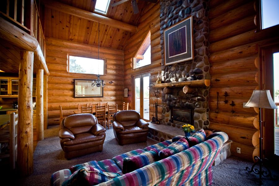 Cowley cabin at the molly butler lodge in greer az for Cabins to rent in greer az