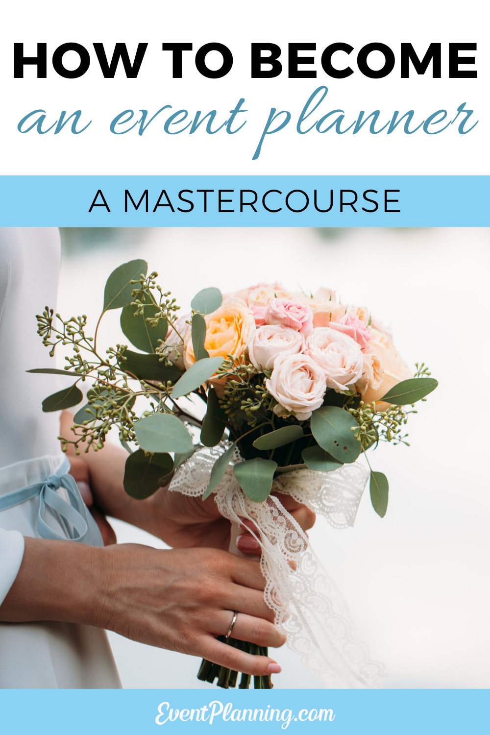 How To Become A Wedding Planner Becoming An Event Planner Wedding Planner Course Wedding Planning Business