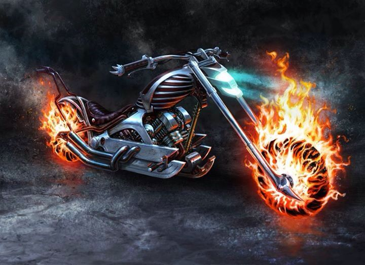 Ghost Rider S Hellcycle Ghost Rider Ghost Rider Marvel Ghost Rider Bike