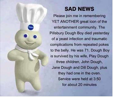 Pin By Janet Milling On Comical Pillsbury Dough Haha Funny Funny P