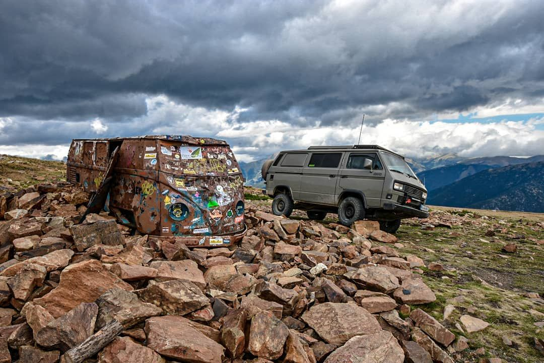 Lifted VW T3 Vanagon - Old School Overland Off-road ...