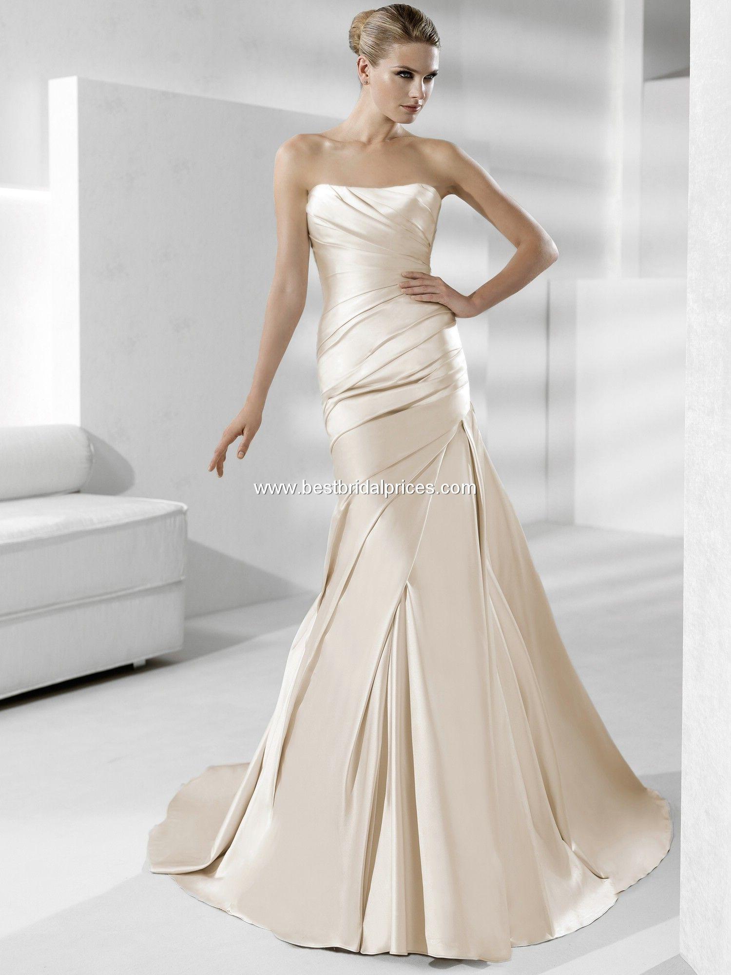 Fancy  best PRONOVIAS images on Pinterest Wedding dressses Marriage and Tulle wedding dresses