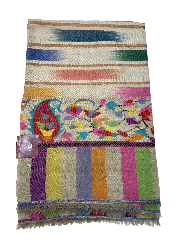e40b929d0 Pure Pashmina Kani Shawl, Kani Shawl/Wrap, Hand Woven, Woven Art ...