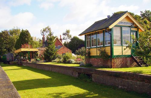 Dream Venue Horsebridge Station Hampshire Unusual Wedding