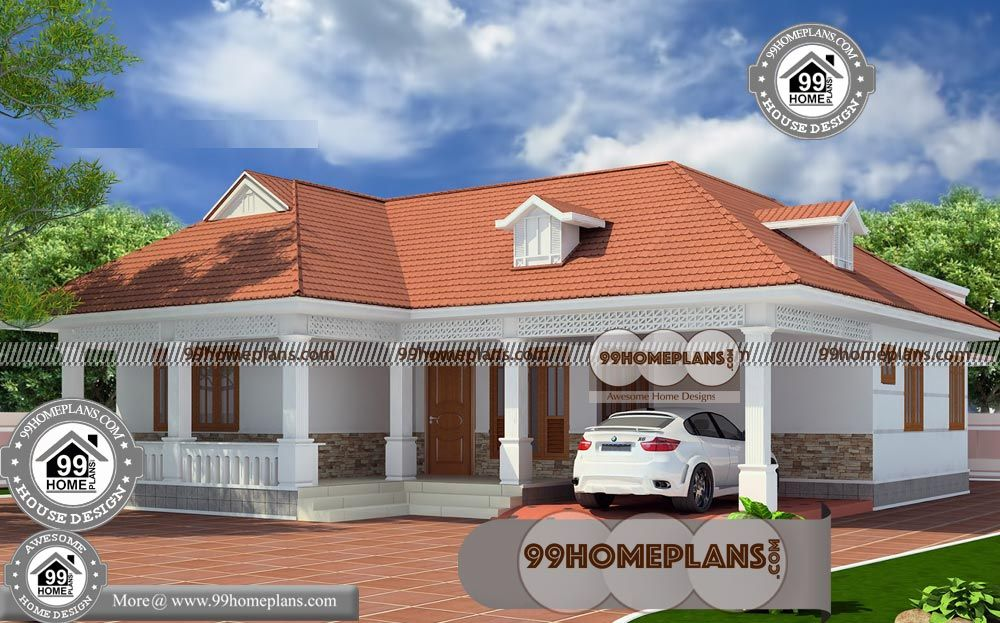 3 Bhk House Plan With Beautiful House Plans With Photos In Kerala Style Having 1 Floor 3 Tot Beautiful House Plans House Plans With Photos Kerala House Design