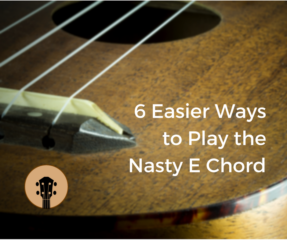 How To Nail The Tricky E Chord Musical Pinterest