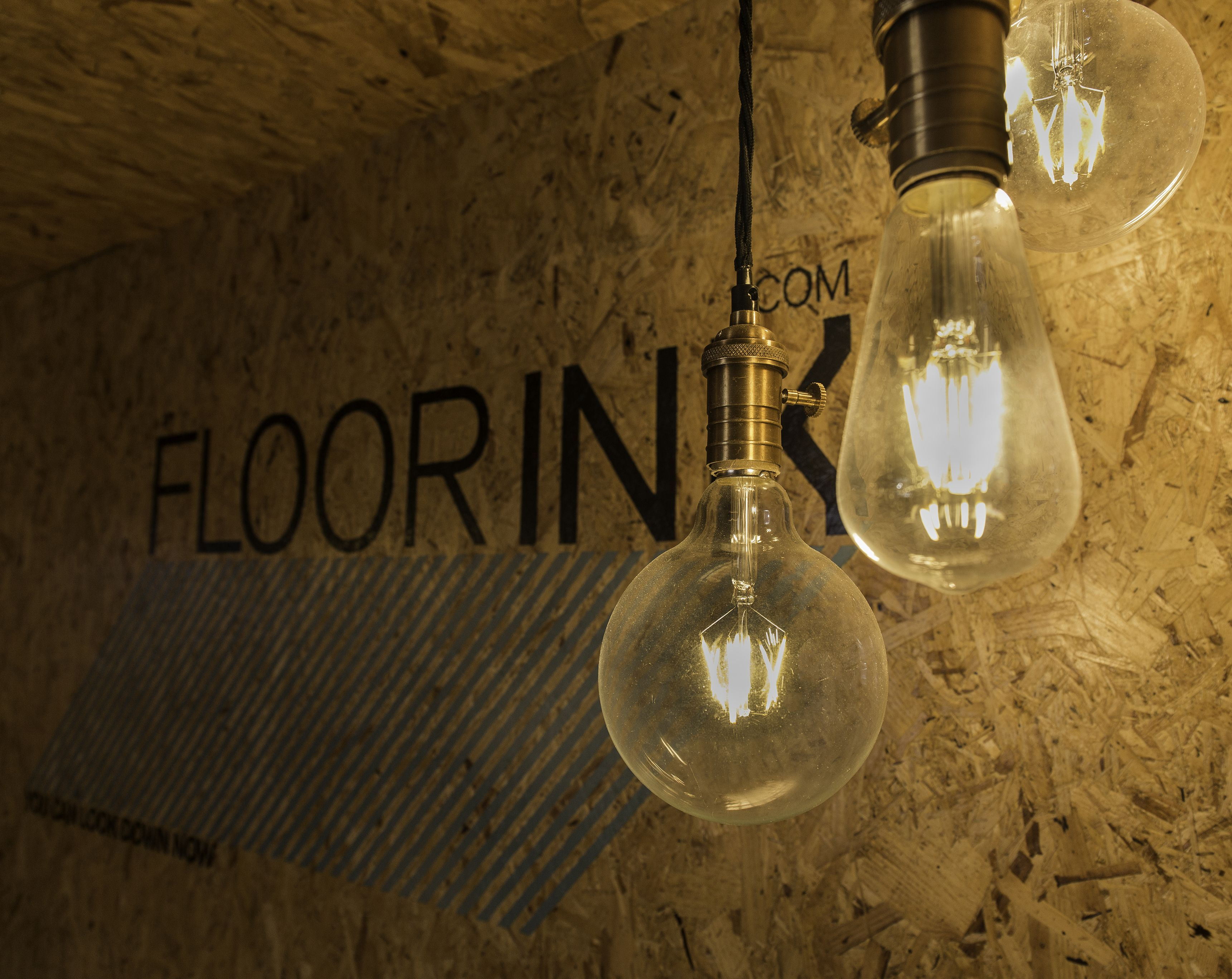 How funky are these lights at the @printedspace office? @floorink  printedspace.com