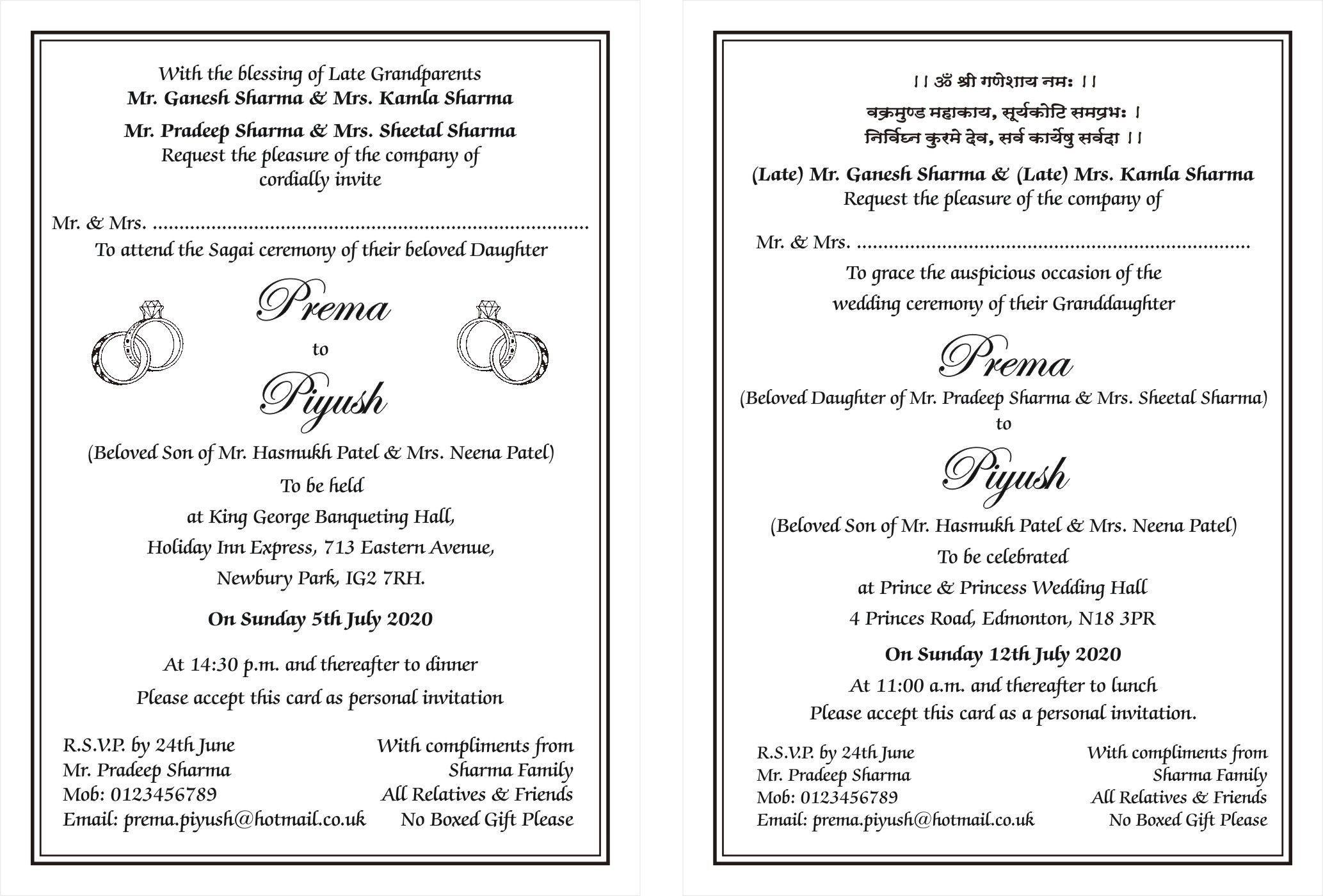 9 Best Marriage Card Wording In 2021 Hindu Wedding Invitations Wedding Invitation Card Wording Hindu Wedding Cards