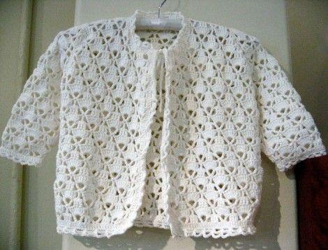 Baby Cardigan Crochet Pattern Favecraftscom Babies Crochet