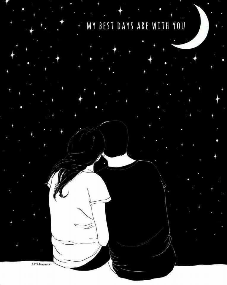 La Luna Sorride Agli Innamorati Foto D Amore Sfondi Sfondi Iphone