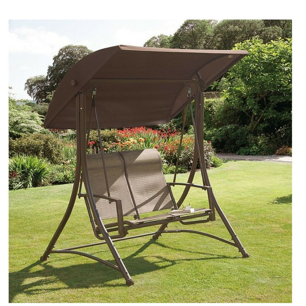 outdoor two cushion rattan hammock person covers garden cream pin with hanging swing chair dark brown